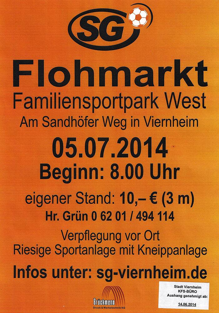 4. Familiensportpark-West Flohmarkt – Sportgemeinschaft ...
