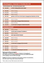 Vorbereitungsplan 2016/2017